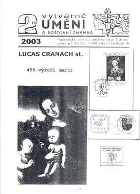 Výtvarné umění a poštovní známka – představení