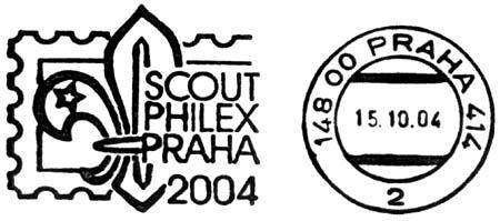 Vzpomínka na SCOUTPHILEX 2004