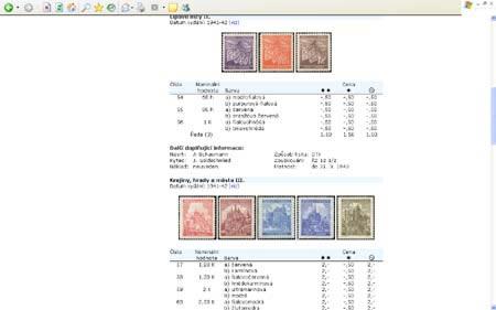 World Philately 2005 – recenze na multimediální katalog poštovních známek Protektorát Čechy a Morava