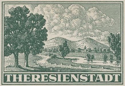 Záhadná fakta kolem balíkové připouštěcí známky pro ghetto Terezín
