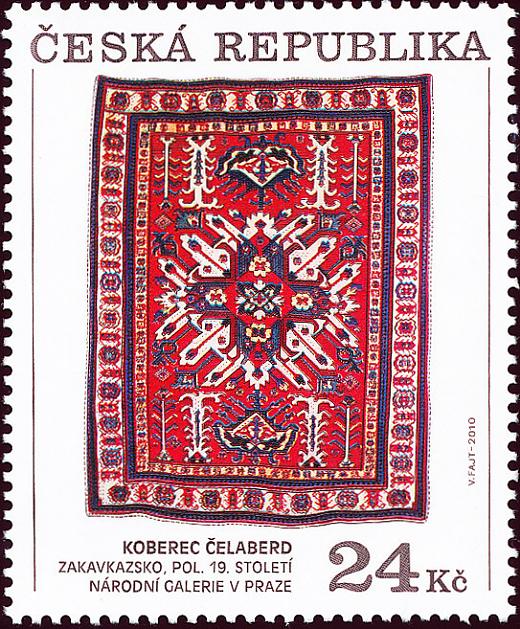 Zakavkazské koberce - 24 Kč