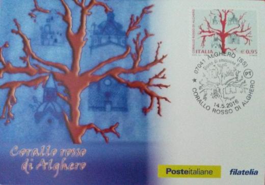 Zaujímavosť talianskej  analogickej pohľadnice
