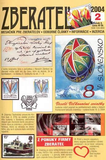 Zberateľ číslo 2/2004