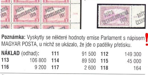 Znalecký spor o Magyarku Parlament – PČ 1919