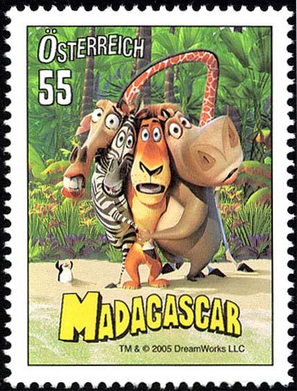 Známkové kuriozity ze světa – rakouská vyšívaná známka Plesnivec Alpský a Madagaskar