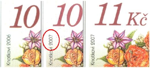 Zpravodaj 01/2010: II. Gratulační kytice (kat. 459) - tisková chyba