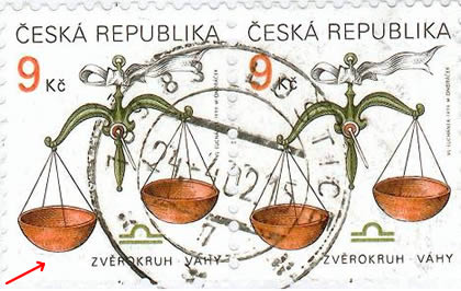 Zpravodaj 1/2004: Co je a co není VV při tisku známek