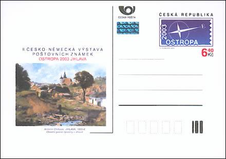 Zpravodaj 1/2004: Seznam katalogových čísel celin ČR 2003
