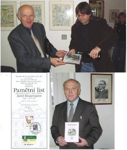 Zpravodaj 2/2008: Inaugurace poštovních známek aneb promarněné příležitosti
