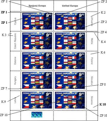 Zpravodaj 4/2004: Rozlišení UTL 0395 Deset nových čl. zemí EU 9,- Kč
