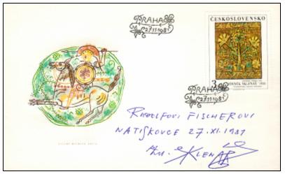 Zpravodaj 4/2006: ZDENĚK SKLENÁŘ a poštovní známka (k úmrtí před 20 lety)