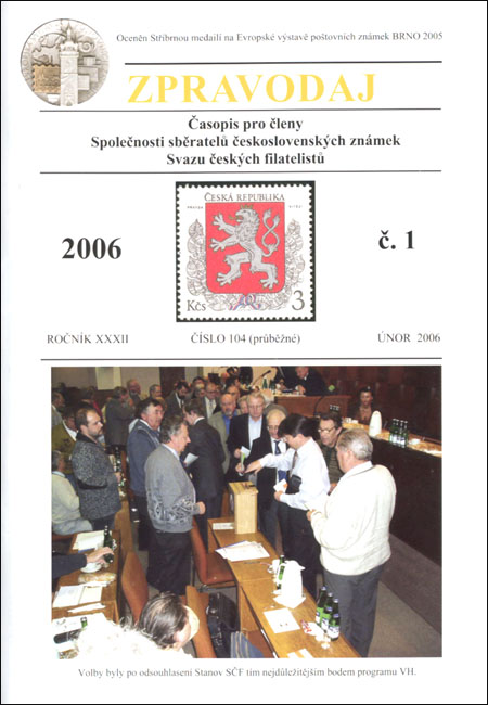 Zpravodaj SSČSZ SČF – 1/2006