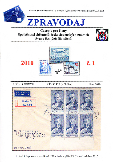 Zpravodaj SSČSZ SČF – 1/2010