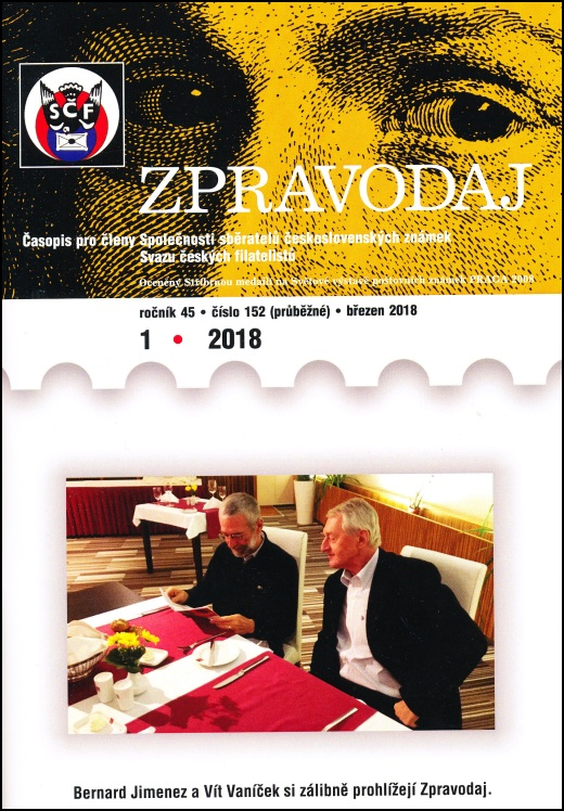 Zpravodaj SSČSZ SČF - 1/2018