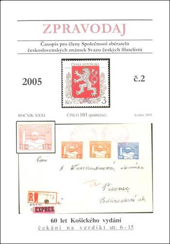 Zpravodaj SSČSZ SČF – 2/2005