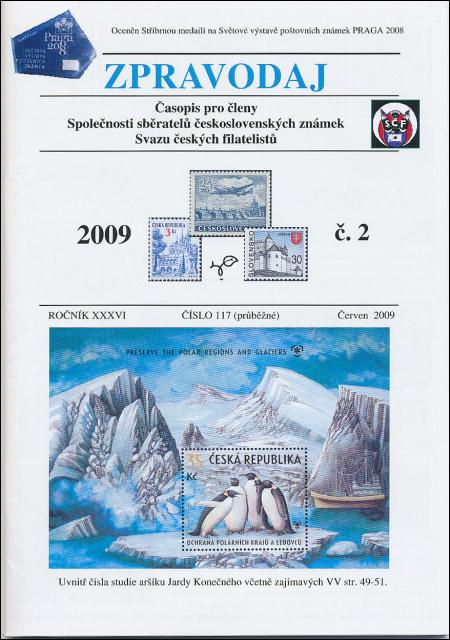 Zpravodaj SSČSZ SČF – 2/2009