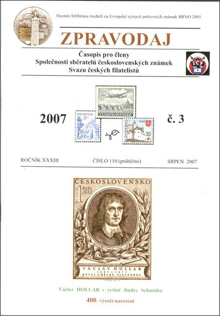 Zpravodaj SSČSZ SČF – 3/2007