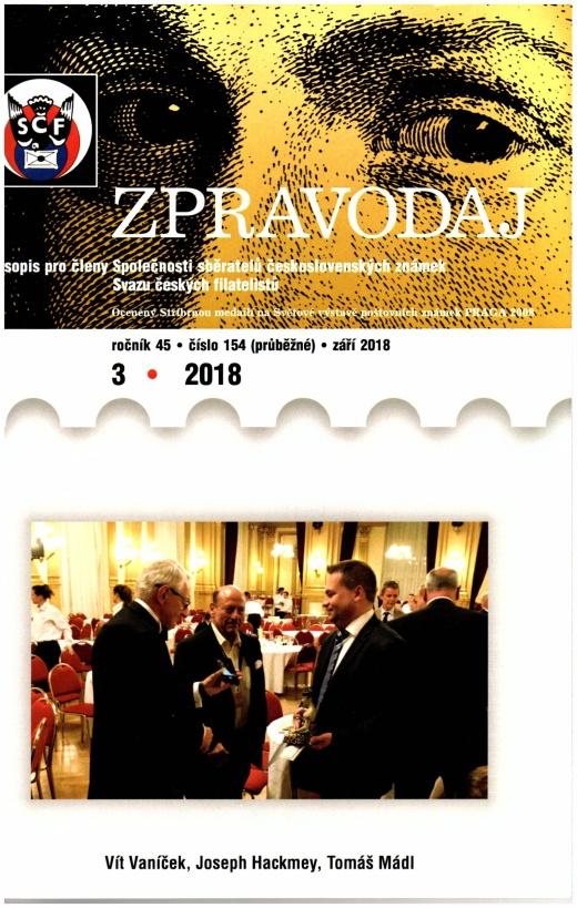 Zpravodaj SSČSZ SČF – 3/2018