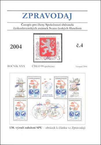 Zpravodaj SSČSZ SČF - 4/2004