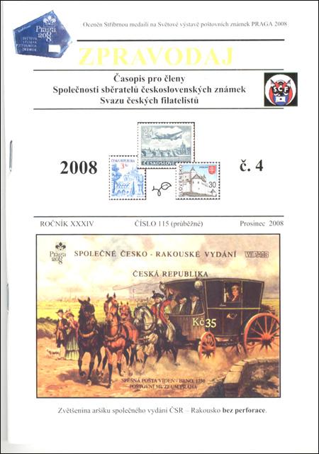 Zpravodaj SSČSZ SČF – 4/2008