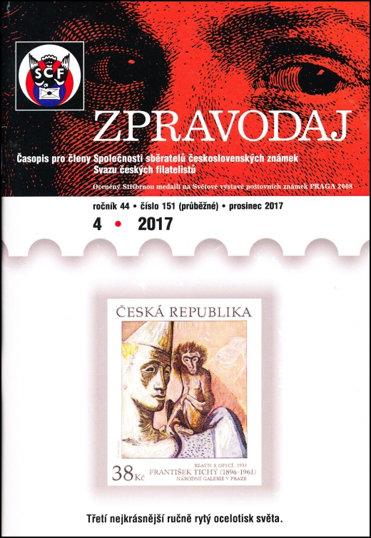 Zpravodaj SSČSZ SČF - 4/2017
