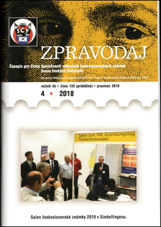 Zpravodaj SSČSZ SČF – 4/2018