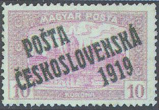 10 K Parlament – PČ 1919 – MAGYAR POSTA