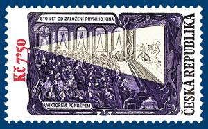 100 let od založení prvního kina Viktorem Ponrepem