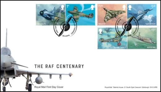 100 let RAF