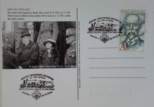 100. výročí navratu prezidenta Masaryka do vlasti