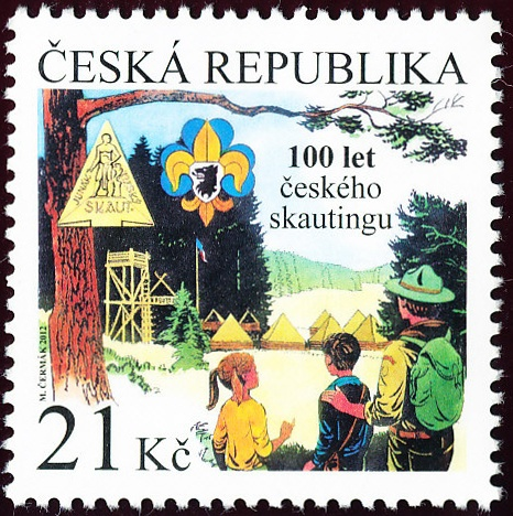 100. výročí založení českého skautingu