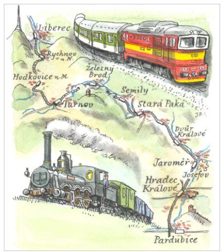 150 let železnice Pardubice – Liberec