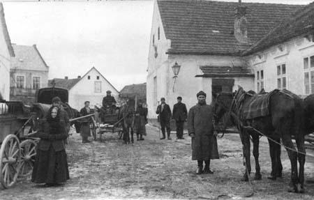 160 let pošty v Křelovicích u Pelhřimova II. - Provoz na staré poště