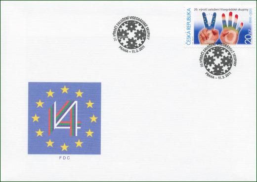 20. výročí založení Visegrádské skupiny