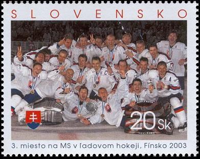 3. miesto na MS v ľadovom hokeji, Fínsko 2003