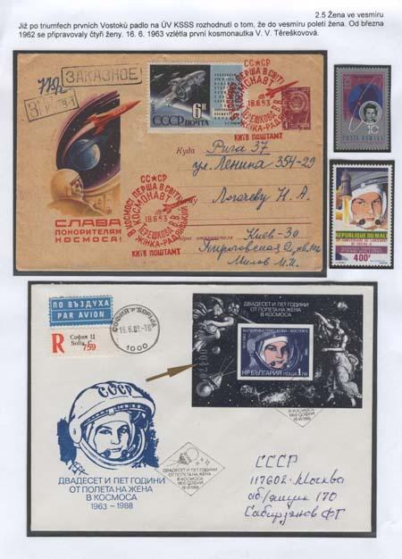 40. výročí kosmického letu první ženy