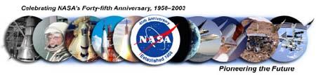 45. výročí založení NASA