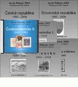 7x CD WP 2005-2006 - ČSR I. a II., ČR, SR, Protekt., Slovenský st. a Rakousko