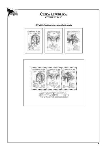 Albové listy POMfila Česká republika 1993-2005 v luxusním provedení