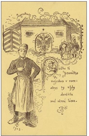 Alšovy pohlednice - IV. Písně a říkadla