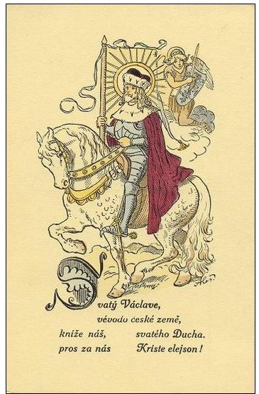 Alšovy pohlednice - V. Z českých dějin