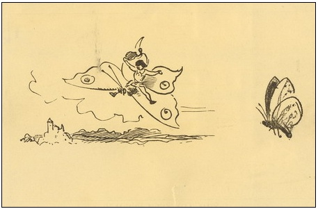 Alšovy pohlednice – VI. Z kreseb rodinných