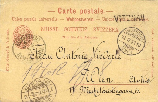 Ambulantní pošty na švýcarských jezerech