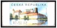 Au-3 Jindřichův Hradec – automatová  výplatní známka