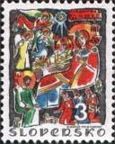 Autor známok Mikuláš Klimčák - doyen slovenského výtvarného umenia - oslávil už svoje 93. narodeniny