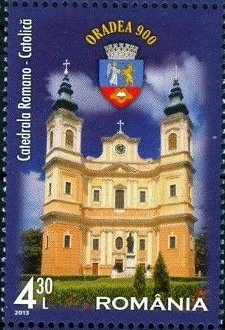 Barokní římsko-katolická katedrála v rumunské Oradei - bohemikum