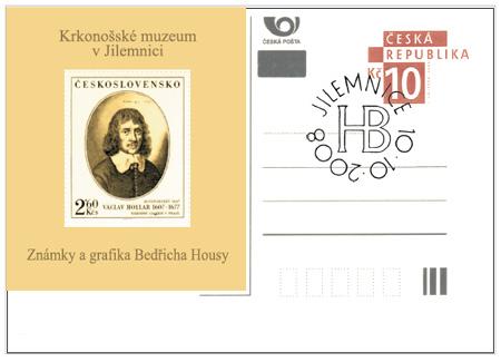 Bedřich Housa – grafika a známková tvorba
