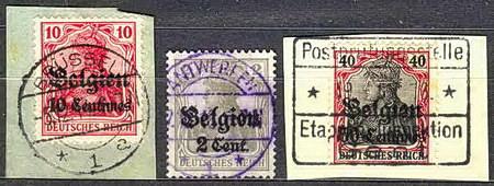 Belgické nedělní známky