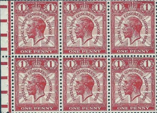 Britské známkové sešitky