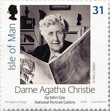 Britské známky AGATHA CHRISTIE
